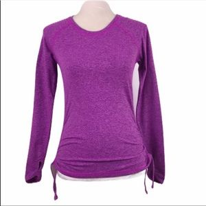Lucy Ruching Detail Workout Top